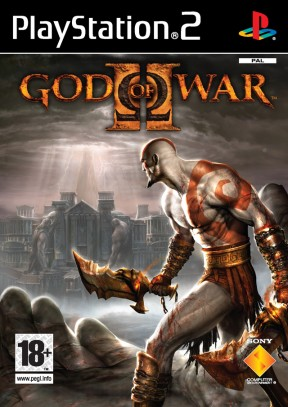 God of War 2 PS2 Cover