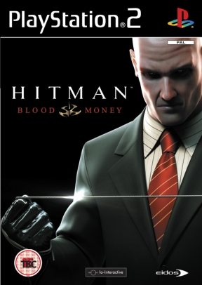 Hitman: Blood Money PS2 Cover