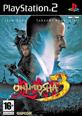 Onimusha 3: Demon Siege PS2 Cover