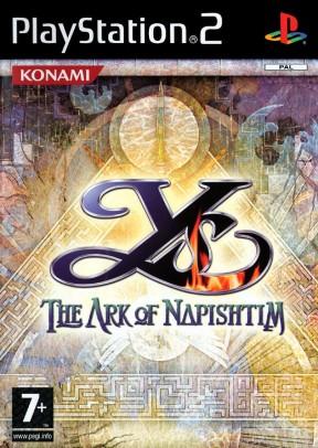 Ys VI: The Ark of Napishtim PS2 Cover
