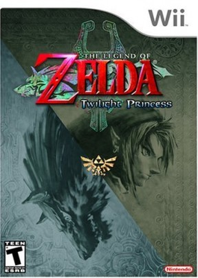 The Legend of Zelda: Twilight Princess Wii Cover