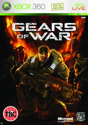 Gears of War Xbox 360 Cover