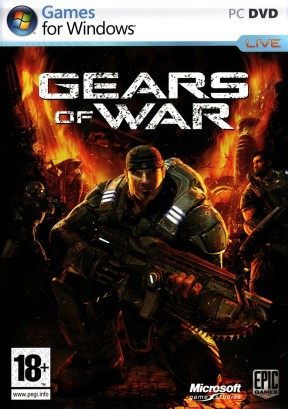 Gears of War PC Cover