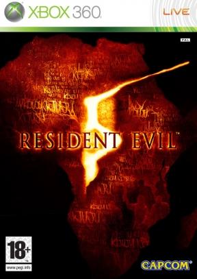 Resident Evil 5 Xbox 360 Cover