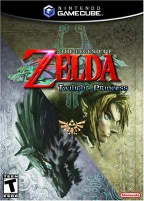 The Legend of Zelda: Twilight Princess GameCube Cover