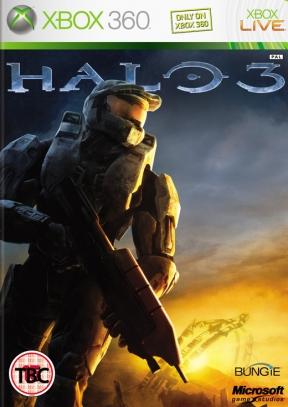 Halo 3 Xbox 360 Cover
