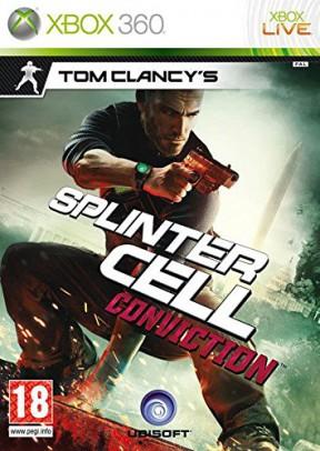 Splinter Cell Conviction Xbox 360 Cover