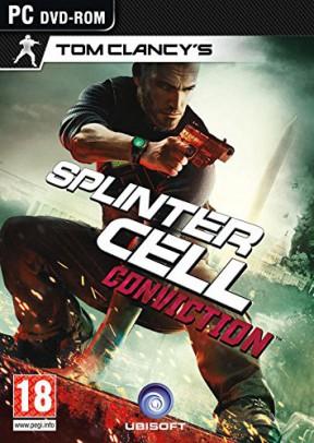 Splinter Cell Conviction PC Cover
