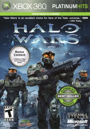 Halo Wars Xbox 360 Cover