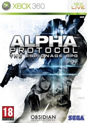 Alpha Protocol Xbox 360 Cover