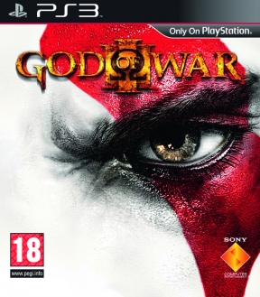 God of War III PS3 Cover