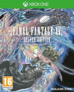 Final Fantasy XV Xbox One Cover