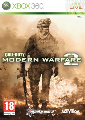 Call Of Duty: Modern Warfare 2 Xbox 360 Cover