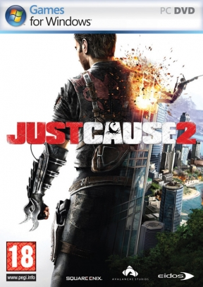 Just Cause 2 PC Cover