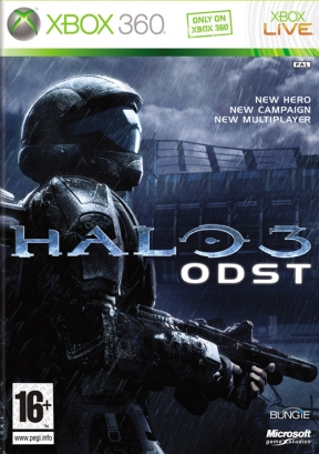 Halo 3: ODST Xbox 360 Cover