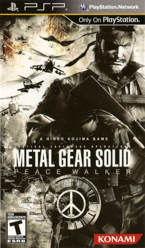 Metal Gear Solid: Peace Walker PSP Cover
