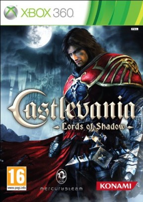 Castlevania: Lords of Shadow Xbox 360 Cover