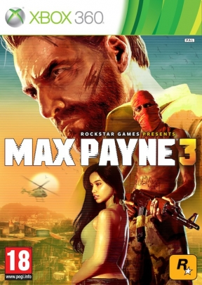 Max Payne 3 Xbox 360 Cover