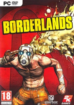 Borderlands PC Cover