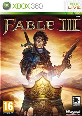 Fable 3 Xbox 360 Cover