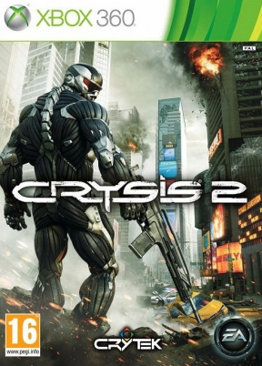 Crysis 2 Xbox 360 Cover
