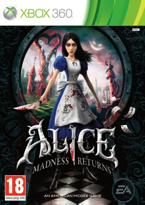 Alice: Madness Returns Xbox 360 Cover