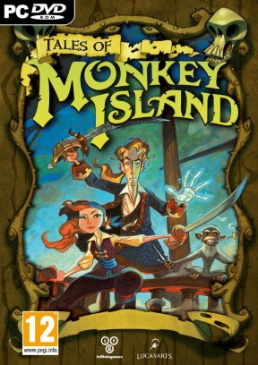 Tales of Monkey Island: Rise of Pirate God PC Cover