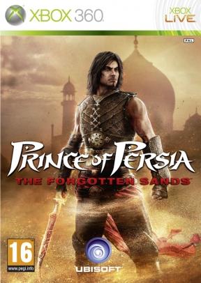 Prince of Persia: Le Sabbie Dimenticate Xbox 360 Cover