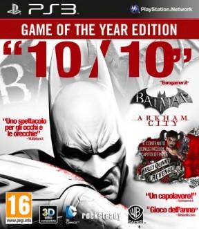 Batman: Arkham City PS3 Cover