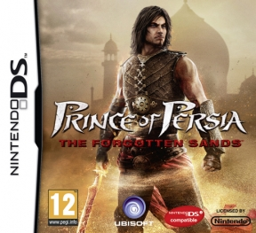 Prince of Persia: Le Sabbie Dimenticate Nintendo DS Cover