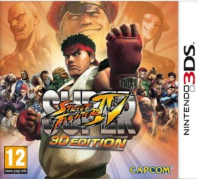 Super Street Fighter IV 3DS Cover