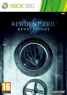 Resident Evil: Revelations Xbox 360 Cover