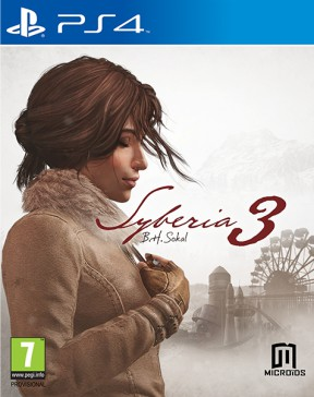 Syberia 3 PS4 Cover