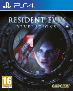 Resident Evil: Revelations PS4 Cover