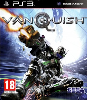 Vanquish PS3 Cover