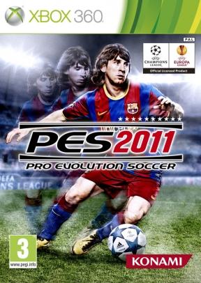 Pro Evolution Soccer 2011 Xbox 360 Cover