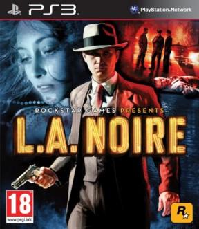 L.A. Noire PS3 Cover