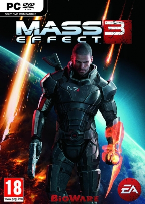 Mass Effect 3 PC Cover