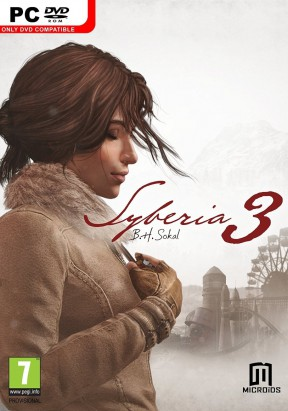 Syberia 3 PC Cover