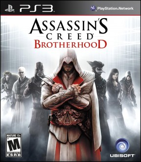 Assassin's Creed: Brotherhood PS3 Cover