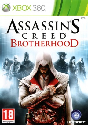 Assassin's Creed: Brotherhood Xbox 360 Cover