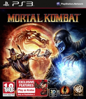 Mortal Kombat 9 PS3 Cover