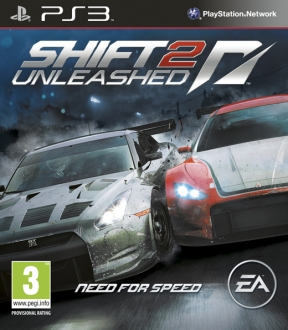 Shift 2 Unleashed PS3 Cover