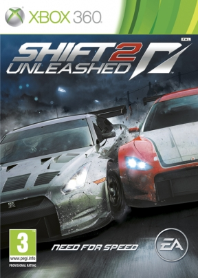 Shift 2 Unleashed Xbox 360 Cover
