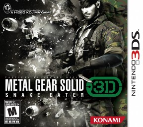 Metal Gear Solid: Snake Eater 3D 3DS Cover