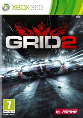 Race Driver GRID 2 Xbox 360 Cover