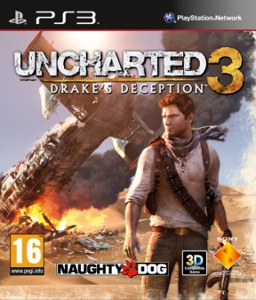 Uncharted 3: Drake's Deception PS3 Cover