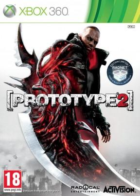 Prototype 2 Xbox 360 Cover