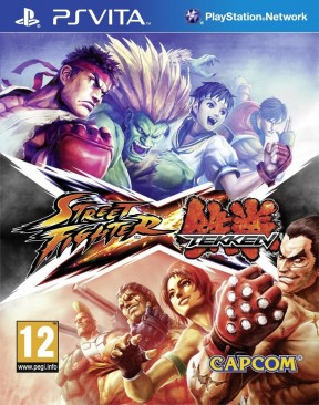 Street Fighter X Tekken PS Vita Cover