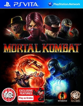 Mortal Kombat 9 PS Vita Cover